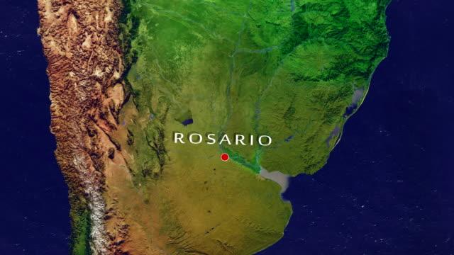 vidéos et rushes de rosario 4k zoomer - argentina