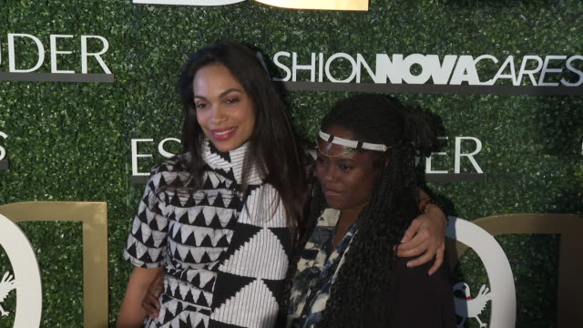 rosario dawson and abrima erwiah at the international women of power luncheon at marriott hotel marina del rey on march 09 2019 in marina del rey... - rosario dawson stock videos and b-roll footage