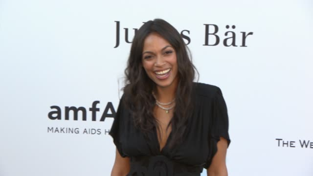 Rosario Dawson at amfAR 'Cinema Against AIDS' 2013 at Hotel du CapEdenRoc on May 23 2013 in Cap d'Antibes France