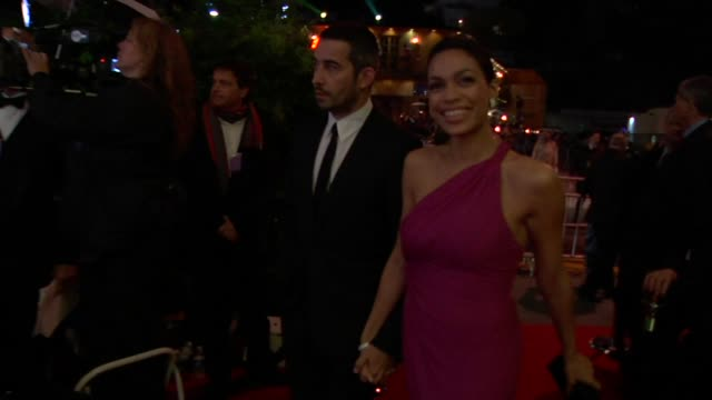 rosario dawson at the 2010 vanity fair oscar party hosted by graydon carter at west hollywood ca - rosario dawson stock videos and b-roll footage