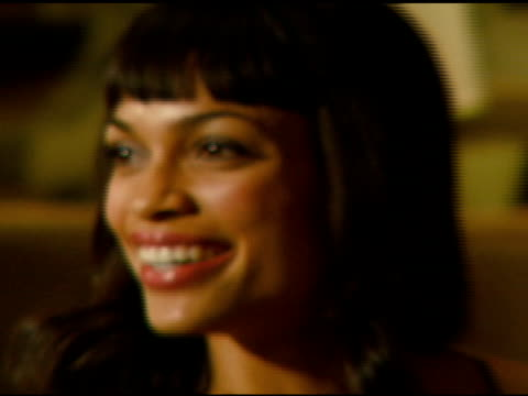 rosario dawson at the 57th ace eddie awards on february 18 2007 - rosario dawson stock videos and b-roll footage