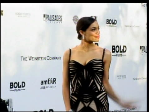 rosario dawson at the amfar's cinema against aids in cannes on may 25 2006 - rosario dawson stock videos and b-roll footage