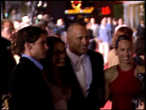 rosario dawson at the premiere of 'the rundown' at universal amphitheatre in universal city california on september 22 2003 - dawson city stock videos and b-roll footage
