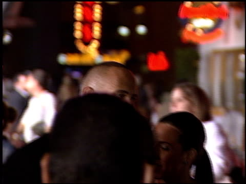 rosario dawson at the premiere of 'the rundown' at universal amphitheatre in universal city california on september 22 2003 - dawson city点の映像素材/bロール