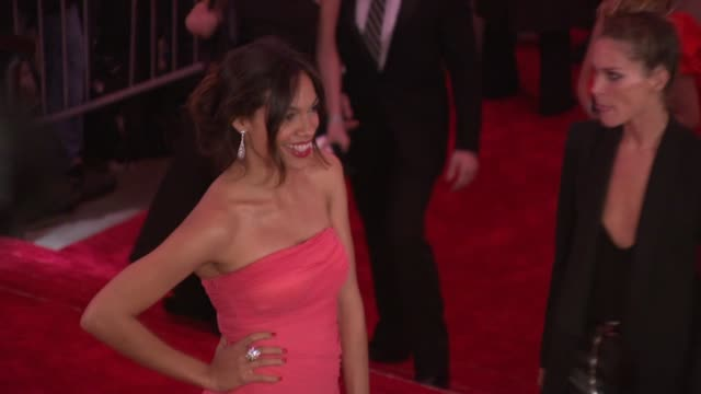 rosario dawson at the 'the model as muse: embodying fashion' costume institute gala at the metropolitan museum of art - arrivals at new york ny. - rosario dawson stock videos & royalty-free footage