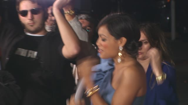 rosario dawson at the 'unstoppable' premiere at westwood ca - rosario dawson stock videos and b-roll footage