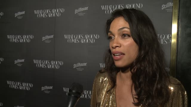INTERVIEW Rosario Dawson on what do you love about What Goes Around Comes Around on what do you love about vintage and how does it inspire you what...
