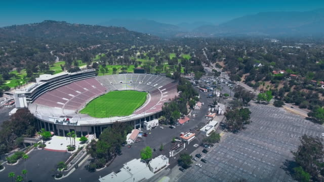 Rose Bowl Stadium Aerial
