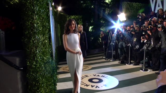rose byrne at the 2013 vanity fair oscar party hosted by graydon carter rose byrne at the 2013 vanity fair oscar party at sunset tower on february 24... - rose byrne stock videos and b-roll footage