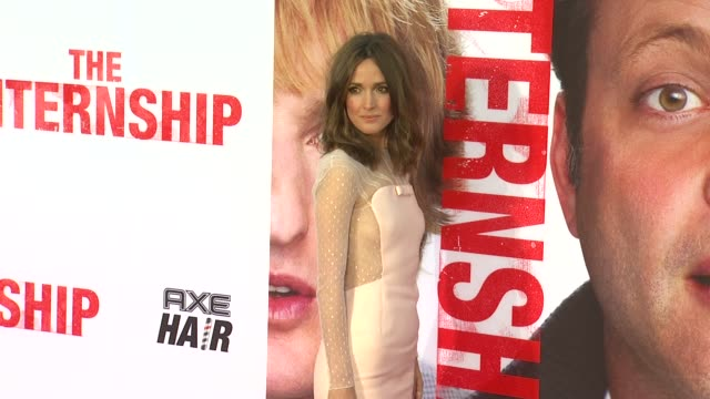 rose byrne at the internship los angeles premiere on 5/29/2013 in westwood ca - rose byrne stock videos and b-roll footage
