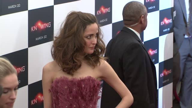 rose byrne at the special new york screening of knowing at new york ny - rose byrne stock videos and b-roll footage