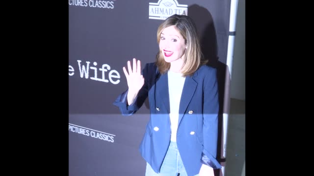 Rose Byrne at the 'The Wife' Los Angeles Premiere
