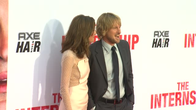 rose byrne owen wilson at the internship los angeles premiere on 5/29/2013 in westwood ca - rose byrne stock videos and b-roll footage