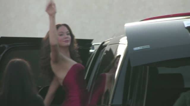 Rose McGowan leaving the 2011 Do Something Awards in Hollywood
