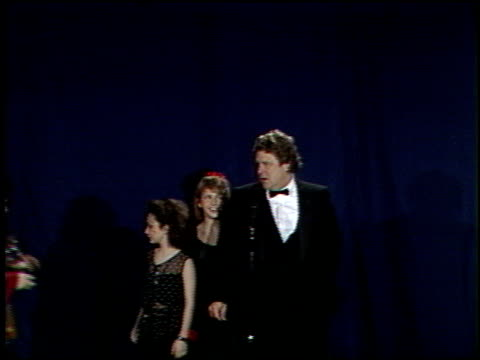 roseanne at the 1989 people's choice awards at disney studios in burbank california on march 12 1989 - roseanne barr stock videos & royalty-free footage