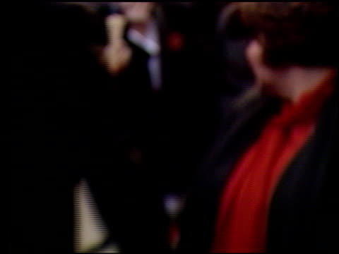 roseanne at the 1990 people's choice awards on march 11 1990 - roseanne barr stock videos & royalty-free footage