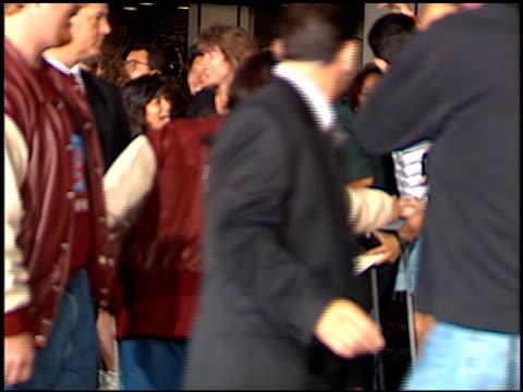 Roseanne at the Planet Hollywood entrances on September 17 1995