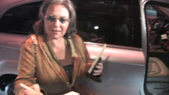 roseanne barr at the celebrity sightings in los angeles at los angeles ca - roseanne barr stock videos & royalty-free footage