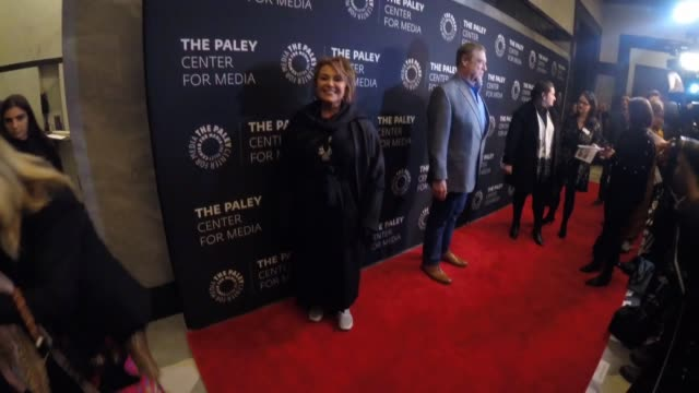 roseanne barr at the paley center for media presents an evening with roseanne at the paley center for media on march 26 2018 in new york city - roseanne barr stock videos & royalty-free footage