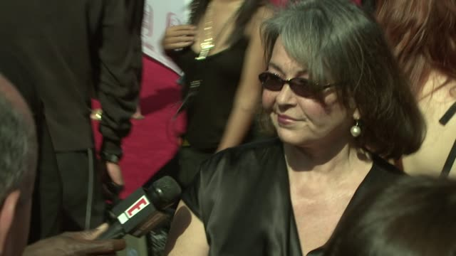 roseanne barr at the tv land awards at los angeles california - roseanne barr stock videos & royalty-free footage