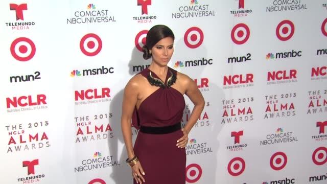 roselyn sanchez at 2013 nclr alma awards on 9/27/2013 in pasadena ca - alma awards stock videos and b-roll footage