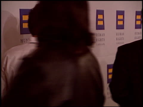 stockvideo's en b-roll-footage met roselyn sanchez at the human rights campaign honors barbra streisand at the century plaza hotel in century city, california on march 6, 2004. - barbra streisand