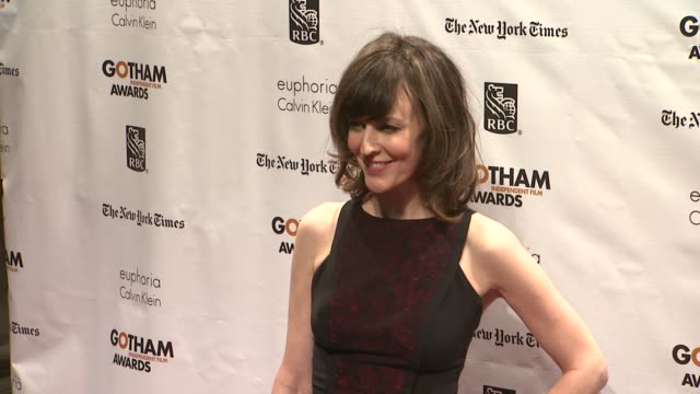 rosemarie dewitt at the 22nd annual gotham independent film awards at cipriani wall street on november 26 2012 in new york new york - independent feature project stock videos & royalty-free footage