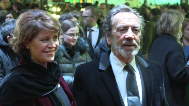 rosemarie ford robert lindsay at 'the prince of egypt' opening night on february 25 2020 in london england - rosemarie ford stock videos & royalty-free footage