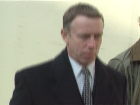 ; c)naf england: london: strand: appeal court: ext cms richard ferguson qc along with others cms ferguson and others along to court l-r cms policeman... - itv news at five stock videos & royalty-free footage