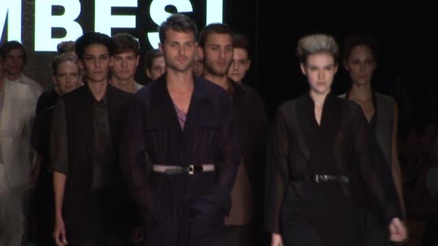 rosemount australian fashion week zambesi/elisabeth findley/dayne johnston/zimmerman/antipodium/ashe peacock - australian fashion week stock videos & royalty-free footage