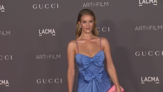Rosie HuntingtonWhiteley at 2017 LACMA Art Film Gala Honoring Mark Bradford and George Lucas Presented by Gucci in Los Angeles CA
