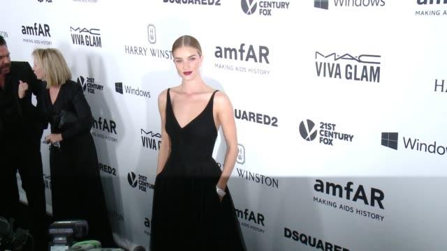 Rosie HuntingtonWhiteley at amfAR's Inspiration Gala Los Angeles 2015 in Los Angeles CA