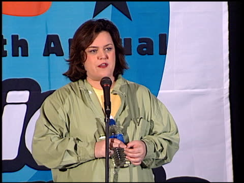 Rosie O'Donnell at the 1998 Nickelodeon Kids' Choice Awards at UCLA in Westwood California on April 4 1998