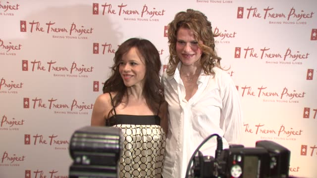 rosie perez and sandra bernhard at the 8th annual trevor project new york gala at new york ny. - rosie perez stock videos & royalty-free footage
