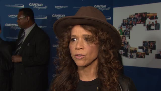 rosie perez at annual charity day 2017 hosted by cantor fitzgerald, bgc and gfi on september 11, 2017 in new york city. - rosie perez stock videos & royalty-free footage