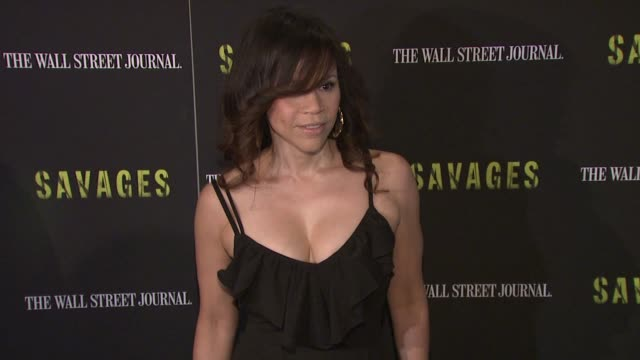 "rosie perez at ""savages"" new york premiere at sva theater on june 27, 2012 in new york, new york - rosie perez stock videos & royalty-free footage"