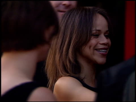 rosie perez at the 'austin powers' the spy who shagged me' premiere at universal amphitheatre in universal city, california on june 8, 1999. - rosie perez stock videos & royalty-free footage