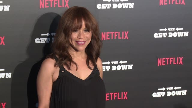 "rosie perez at ""the get down"" premiere at lehman center for the performing arts on august 11, 2016 in new york city. - rosie perez stock videos & royalty-free footage"