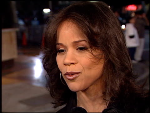 rosie perez at the premiere of 'the road to el dorado' at the mann village theatre in westwood, california on march 29, 2000. - rosie perez stock videos & royalty-free footage
