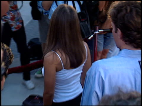 rosie perez at the 'snake eyes' premiere at paramount theater in hollywood, california on july 30, 1998. - rosie perez stock videos & royalty-free footage