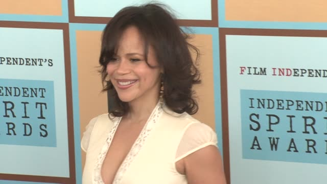 rosie perez at the the 21st annual ifp independent spirit awards in santa monica, california on march 4, 2006. - rosie perez stock videos & royalty-free footage