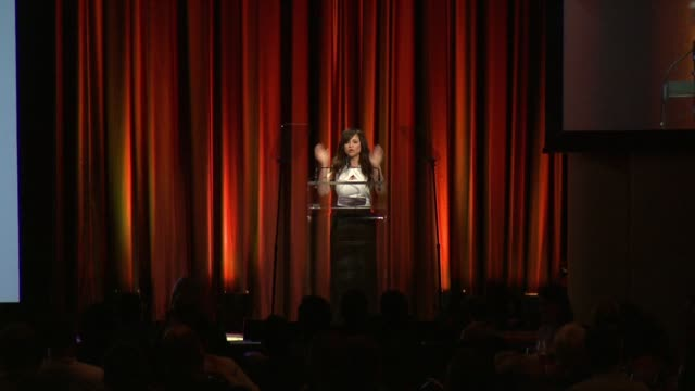 "rosie perez on the ""questioning"" phase people go through, introduces debi jackson at trevorlive new york 2015 at marriott marquis times square on... - rosie perez stock videos & royalty-free footage"
