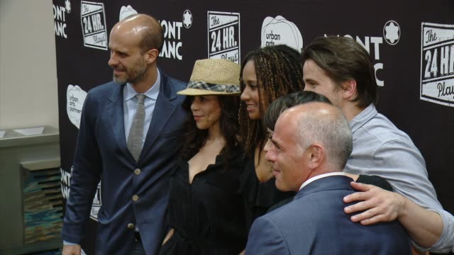 stockvideo's en b-roll-footage met rosie perez, tracie thoms, jason ritter at montblanc presents the 4th annual production of the 24 hour plays in los angeles to benefit urban arts... - rosie perez