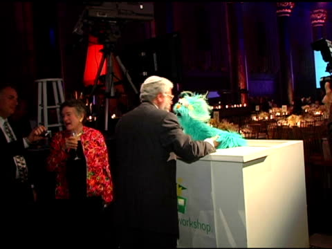 rosita and guest at the sesame workshop's 4th annual benefit gala hosted by matt lauer and elmo at cipriani 42nd street in new york, new york on may... - マンハッタン チプリアーニ点の映像素材/bロール