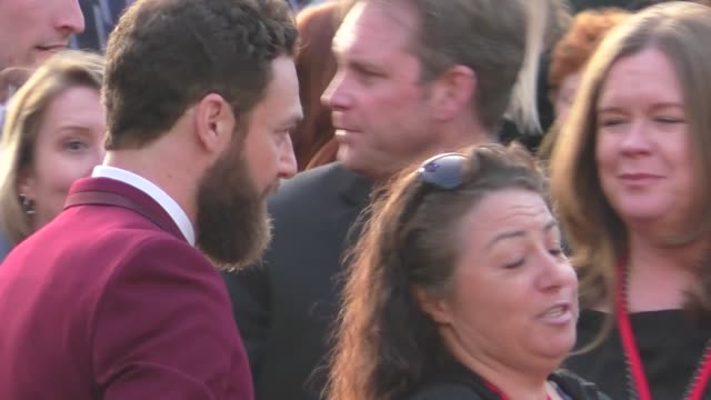 Ross Marquand attends the Avengers Infinity War premiere in Hollywood in Celebrity Sightings in Los Angeles