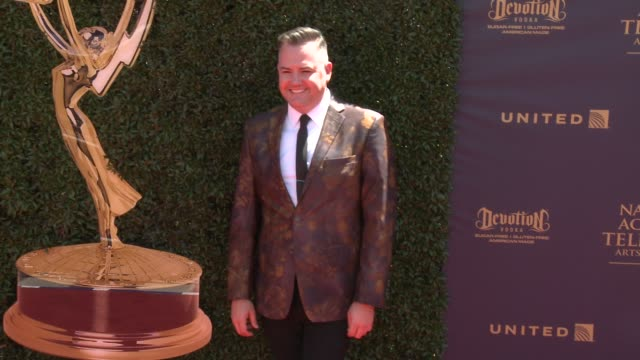 ross mathews at the 44th annual daytime emmy awards at pasadena civic auditorium on april 30 2017 in pasadena california - pasadena civic auditorium stock-videos und b-roll-filmmaterial