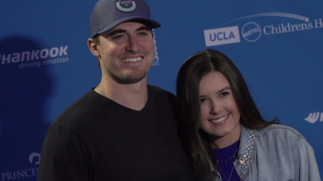 Ross Stripling and Shelby Stripling at the Clayton And Ellen Kershaw Host 7th Annual Ping Pong 4 Purpose Celebrity Tournament Fundraiser at Dodger...