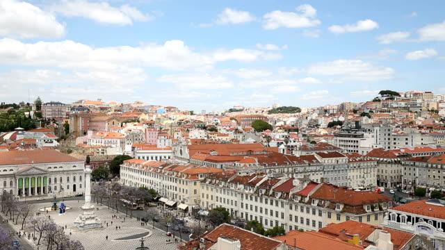 Rossio plein in Lissabon