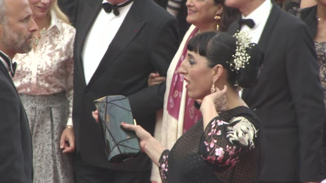 rossy de palma at 'loving' red carpet at grand theatre lumiere on may 16 2016 in cannes france - grand theatre lumiere stock videos & royalty-free footage