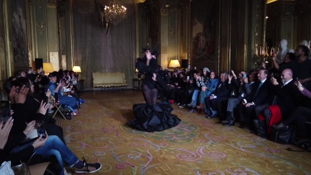 FRA: Paris Fashion Week - Haute Couture Spring/Summer 2020 : Juana Martin